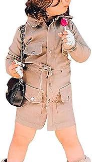 Giacca a Vento Bambina Bambino Unisex Giubbotto Antivento Caldo per Primavera Autunno con Maniche Lunghe Bottoni Lampo Tas...