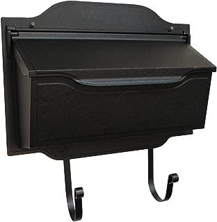 Special Lite Products SHC-1002-BLK Contemporary Horizontal Mailbox, Black