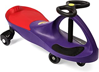 The Original PlasmaCar by PlaSmart - Purple - Ride On for Ages 3 Years and Up - No Batteries, Gears or Pedals - Twist, Tur...