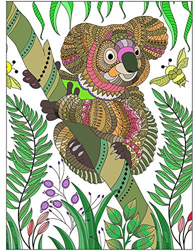 ART4U Paint & Create Color Canvas Kit, Paint by No Number, Draw Your own Design, for Kids, Students, Adults Beginner - Koala 9x12 inch with Brushes and Acrylic Pigment