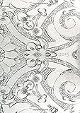 dicker TageBuch Kalender 2019 - Silver Ornament: Endlich genug Platz für dein Leben! 1 Tag pro DIN A4 Seite