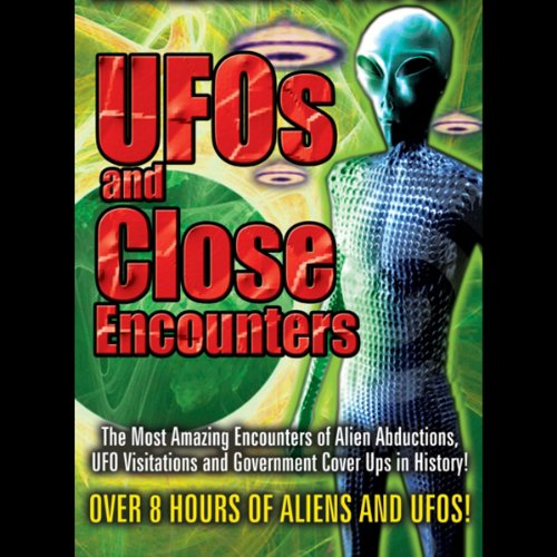 UFOs and Close Encounters audiobook cover art