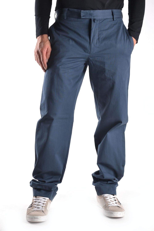 MAURO GRIFONI Men's MCBI11378 blueee Cotton Pants