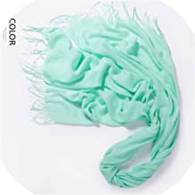 Autumn And Winter Scarf Women Fashion Solid Cashmere Scarves Shawls Wraps 35 Colours