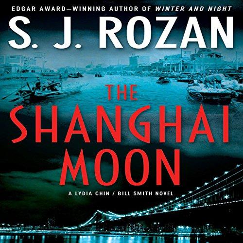 The Shanghai Moon audiobook cover art