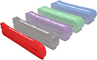 Fitness Dreamer Resistance Bands, Exercise Loop Bands and Workout Bands, Fitness Bands for Training or Physical Therapy-Im...