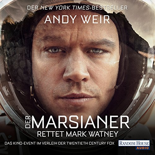 Der Marsianer audiobook cover art