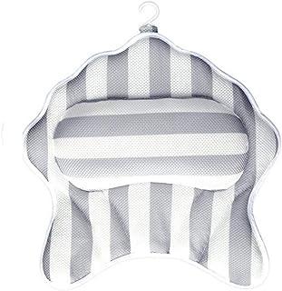 YXHMdd Bathtub Pillow,with Extra Thick and Soft Foam Premium Bath Pillow Non-Slip Bath Mat ,Padding Home Spa Headrest