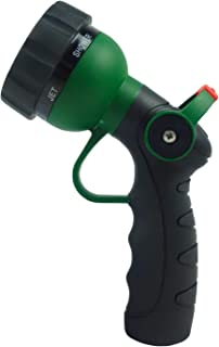 H2O WORKS Garden Hose Nozzle Thumb Control On Off Valve for Easy Water Flow Control, Heavy Duty Metal Garden Hose Nozzle w...