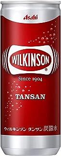 〔飲料〕 ウィルキンソン タンサン 250缶 4ケース (250ml)(1ケース20本入)(タンサン水、炭酸水、ソーダ水、スパークリングウォーター)アサヒ飲料