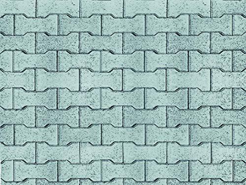 Vollmer 46054 Mauerplatte Zement-Knochen