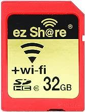 ez Share 8GB 16GB 32 GB Or Adapter WiFi SDHC card Class10 SD card Wireless camera memory card for Camera Cannon SAMSUNG SONY FUJIFILM CASIO Nikon Panasonic PENTAX OLYMPUS (32GB)