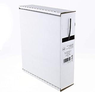 Heat Shrink Tubing Black 2:1 1.6-0.8 mm 12 Metres - Dispenser Box