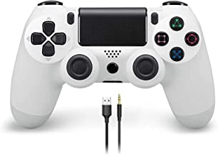 Wireless Gaming Controller for PS4, YCCSKY Wireless Gamepad with Touch Panel Share Button Audio Function LED Indicator and...