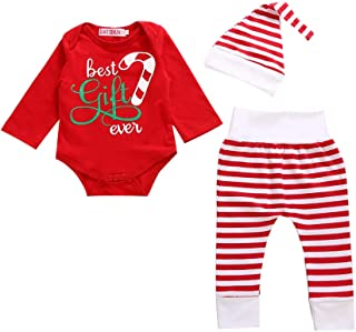 YOUNGER TREE Christmas Baby Outfits Kids Shorts Sets Boys Girls Suspender Skirts Deer Dress Shirt Pants Clothes