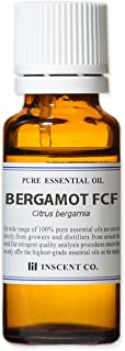 ベルガモットFCF (ベルガプテンフリー) 20ml インセント エッセンシャルオイル 精油 アロマオイル