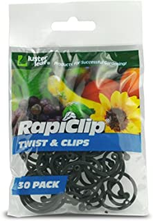 Luster Leaf 816 Rapiclip Twist and Clip, Pack of 30