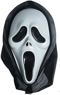Inception Pro Infinite Máscara para Disfraz - Traje - Carnaval - Halloween - Monstruo - Asesino - Color Blanco - Adultos - Unisex - Mujer - Hombre - Niños - Scream