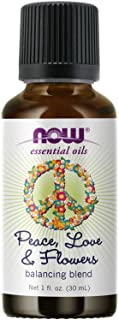 NOW Essential Oils, Peace, Love and Flowers, Sweet Floral Aromatherapy Scent, Blend of Pure Essential Oils, Vegan, Child R...