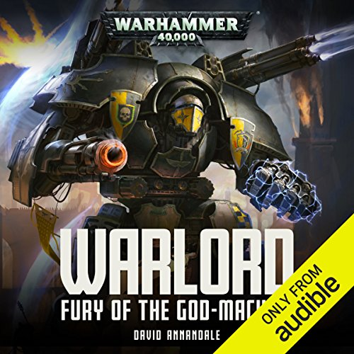 Warlord: Fury of the Godmachine audiobook cover art