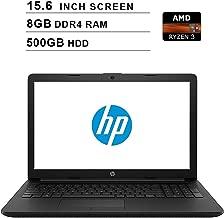 2019 Premium Flagship HP Pavilion 15.6 Inch HD Laptop (AMD Ryzen 3 2200U, 2.5 GHz up to 3.4 GHz, 8GB DDR4 RAM, 500GB HDD, AMD Radeon Vega 3, WiFi, Bluetooth, HDMI, Windows 10 Home) (Renewed)