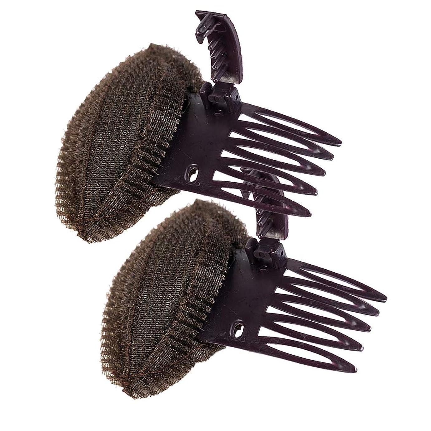 雪だるま妊娠した屋内でD DOLITY 盛り髪 ベース 大きな盛り髪ベース 大小セット 簡単ボリュームアップ 便利 2個入り