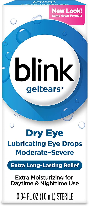 blink Gel Tears Lubricating Max 61% OFF Eye Excellent Drops Pack mL 5 of 10