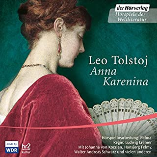 Anna Karenina                   Written by:                                                                                                                                 Leo Tolstoi                               Narrated by:                                                                                                                                 Bodo Primus,                                                                                        Walter Andres Schwarz,                                                                                        Johanna von Koczian                      Length: 4 hrs and 28 mins     Not rated yet     Overall 0.0