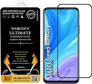 MARGOUN for Samsung S20 FE / S20 FE 5G Screen Protector Tempered Glass 3D, Bubble Free, HD Clear, Full Coverage Protective...