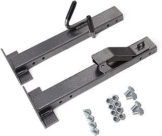 ELITEWILL Locking Single Trimmer Rack Trim line Holder Fit for Open Landscape Trailers Racks