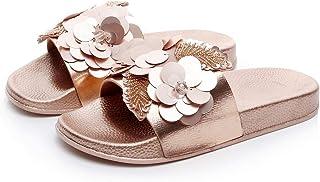 JUCAIPEN- Flip-flops Newest Rome Beaded Strap Flexible Antislip Outsole Wear-resistant Unisex Woman Flat Beach Shoes Flip Flops Leisure Slipper Sandals