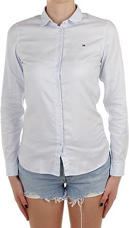 Tommy Hilfiger Heritage Regular Fit Shirt Blusa para Mujer