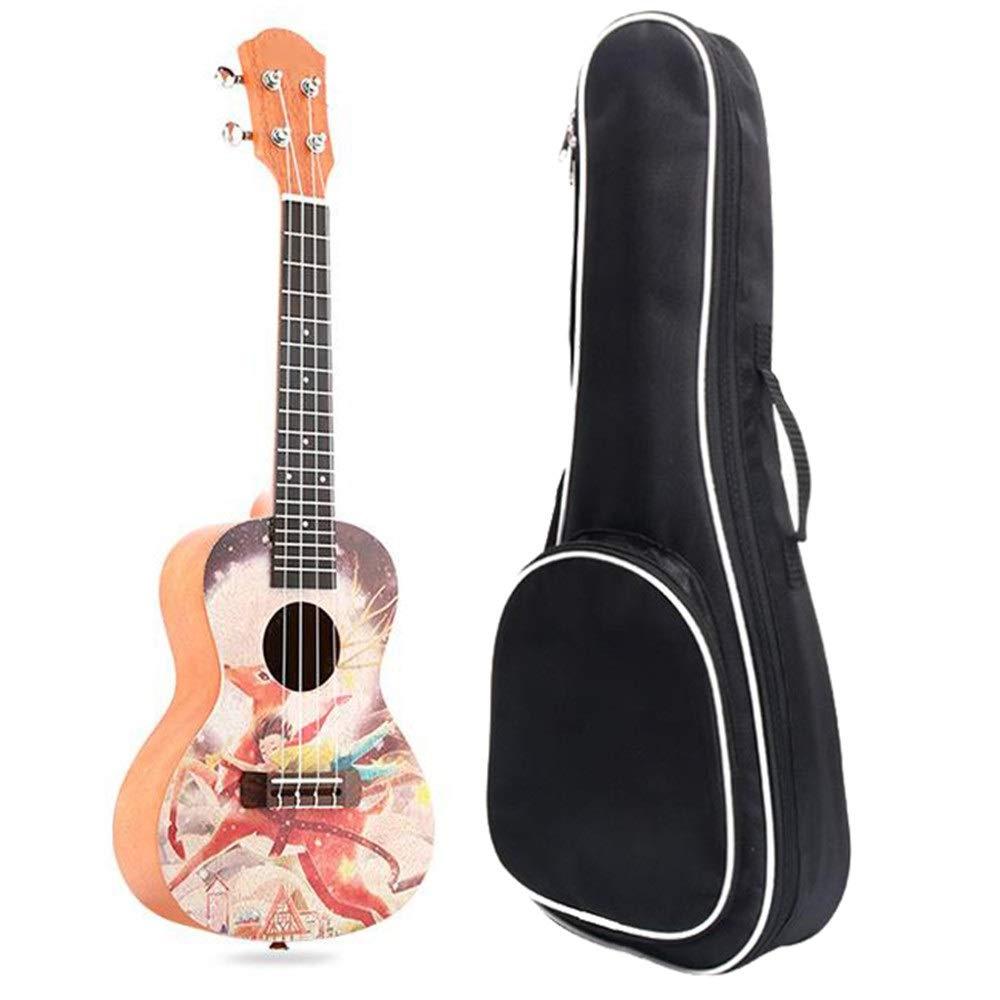 ZnMig Easy to Play – Guitarra de madera de caoba resistente ...