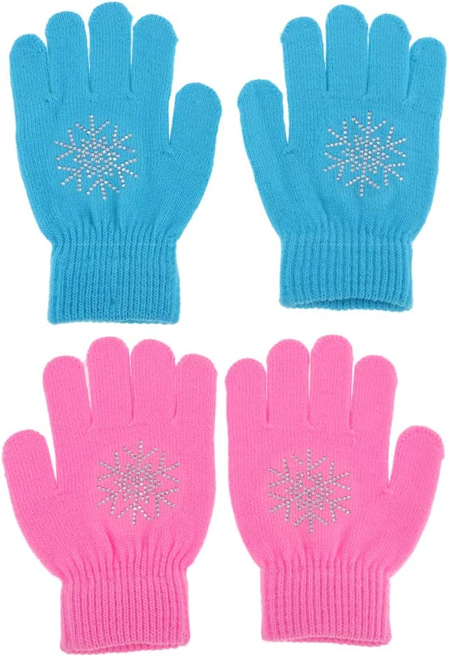 Almencla Kid's Winter Gloves Children Stretchy Warm Denver Mall C Some reservation Glove with
