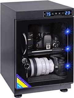 AUTENS TWAIPO 30L Electronic Dehumidify Dry Cabinet Box Anti-Mold Storage with Touchscreen, LED Light, Adjustable Shelves ...