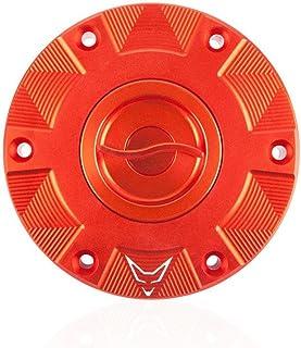 RACEFOXX Tankdeckel Tankverschluss Tank mit Schnellverschluss, orange, kompatibel für KTM1290