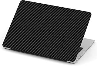 [ Compatible with Older Version MacBook PRO Retina 13 inch (Model A1425 & A1502 - Year 2012-2015) ] Full Body Hard Case Cover - Black Carbon Fiber