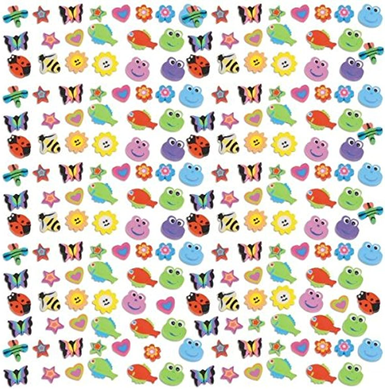 comprar ahora Amscan Party Perfect Assorted Bugs and and and Animals Mini Eraser Mega Value Pack (500 Piece), 7 11 16 x 7 5 8, MultiColor by Amscan  venta de ofertas