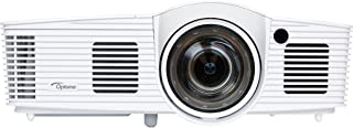 Optoma GT1080Darbee Short Throw Projector for Gaming, Movies and Sports, 3000 Lumens, Low Input Lag of 16ms, 3D, Darbee Technology for Sharper Image