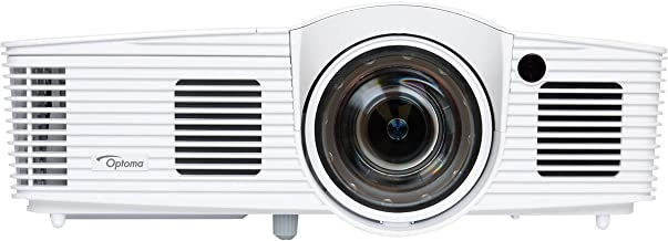 $661 Get Optoma GT1080Darbee Short Throw Projector for Gaming, Movies and Sports, 3000 Lumens, Low Input Lag of 16ms, 3D, Darbee Technology for Sharper Image