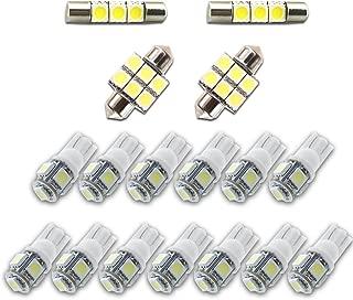For Honda Ridgeline Led Interior Lights Led Interior Car Lights Bulbs Kit 2006-2014 White 17Pcs