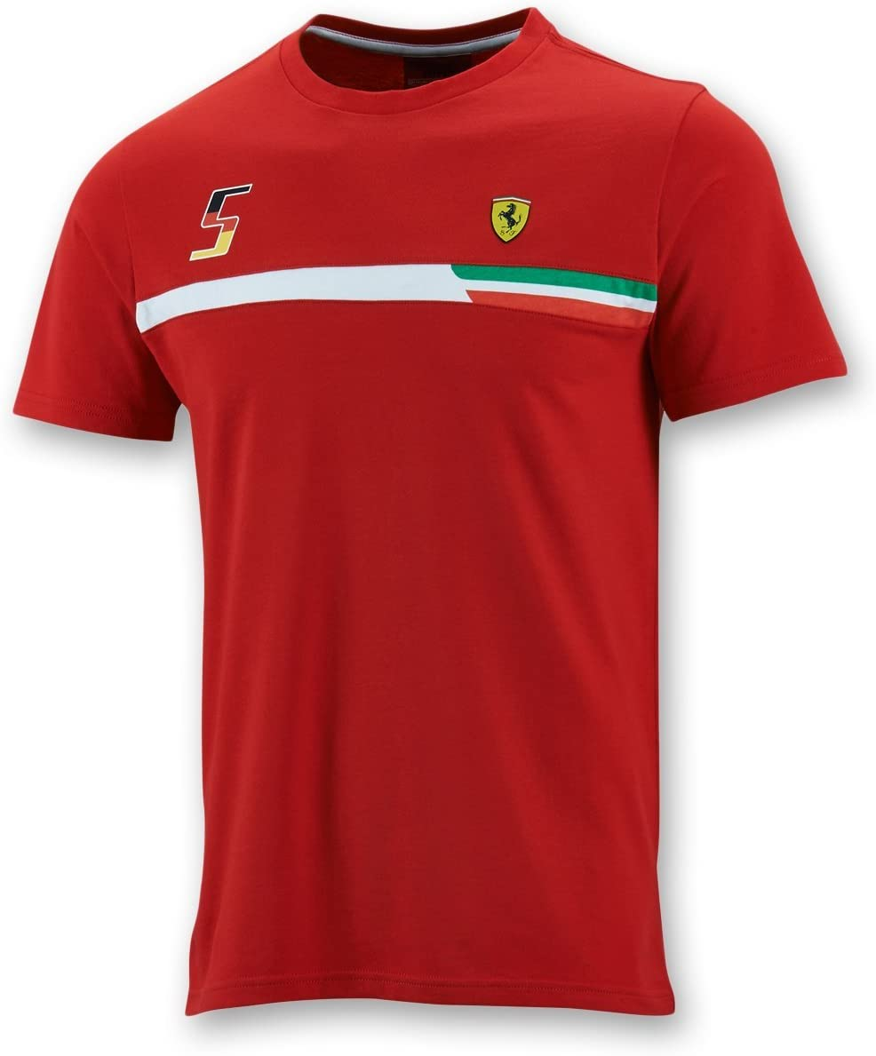 FERRARI F1 T-Shirt Camiseta, Hombre