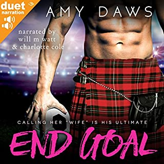 End Goal audiobook cover art