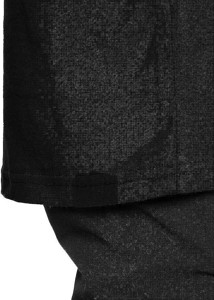 NHOUYAO Womens Short Sleeve T Shirt,Cotton Loose Crewneck Big Tall Tee Shirts