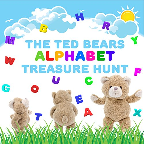 The Ted Bears Alphabet Treasure Hunt audiobook cover art