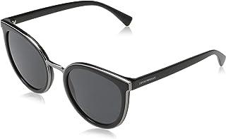 Emporio Armani Womens Cat eye Sunglasses EA4135 501787 54mm