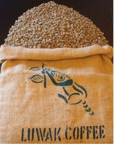 世界一高価で希少なコーヒー インドネシア コピ・ルアック焙煎したて100g(豆)