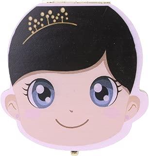 Caja de madera para guardar dientes de leche de beb/é Boys 12.5*11.5*3CM de Nikgic