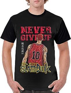 メンズ SLAM DUNK Tシャツ カジュアル ファッション Shirt 短袖 カスタマイズ シャツ