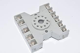 IDEC SR3P-06 RELAY SOCKET, 11PIN, 10A, 300V (1 piece)